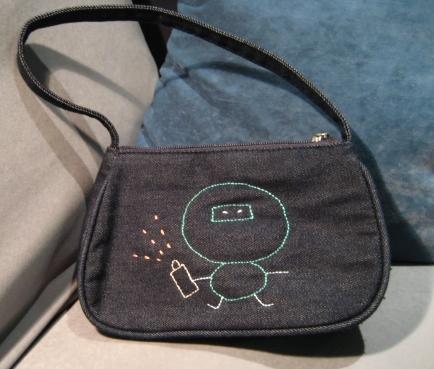 Graffiti Ninja Handbag