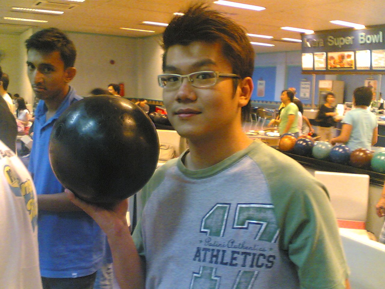 Jon and his 'ball'