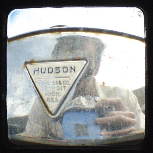 Hudson with self-portrait