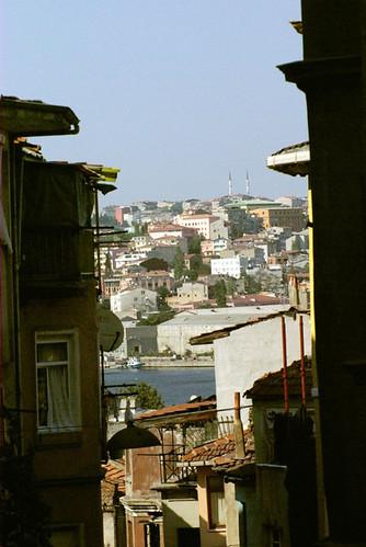 Balat streets and Golden Horn, Istanbul, pentax k10d