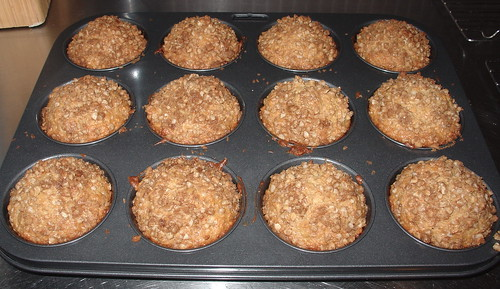 carrot and macadamia muffins
