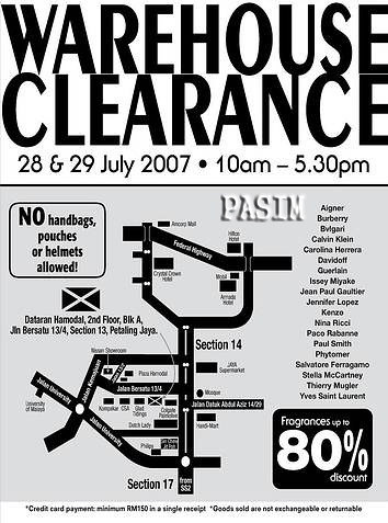 Luxasia Fragrance Warehouse Clearance