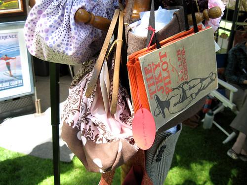 A few of Mackenzie's purses.