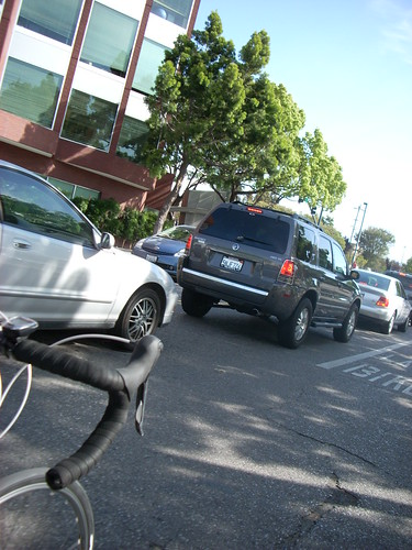 Bike Lane: Passing on the right