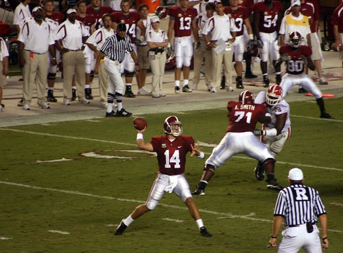 Alabama vs. Georgia by Diamondduste.