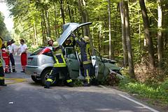 Schwerer Verkehrsunfall B54 14.08.07