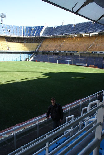 in de Bombonera van Boca Juniors