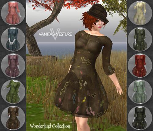 Vanitas Vesture - Wonderland - Mercurial Dress