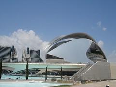 L'Opera di Calatrava a Valencia
