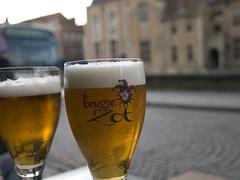Beer in Bruges