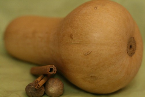 Butternut Squash with Cinnamon and Nutmeg