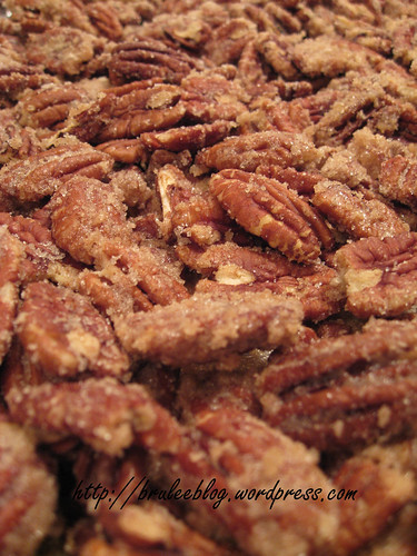 Sugar Coated Pecans (a.k.a. sugared crack)