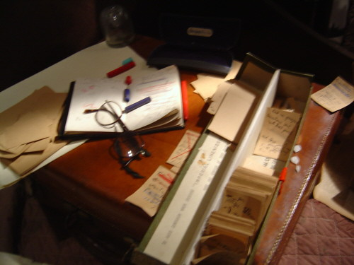 Replica of James Joyce's desk