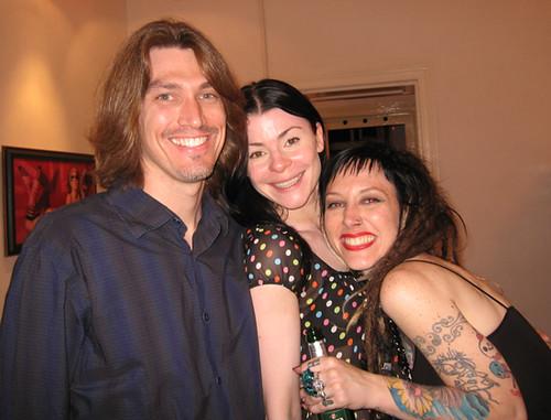 Brian Horton, Yasha, and me