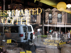 NYC: Porto Rico Coffee Reflection