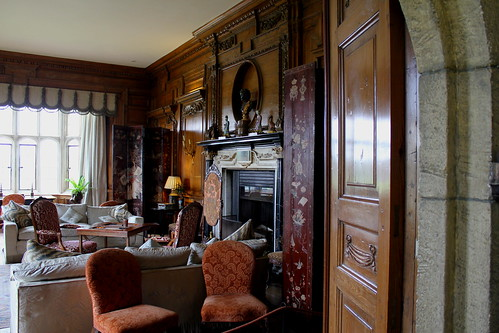 Sitting room at Leeds Castle