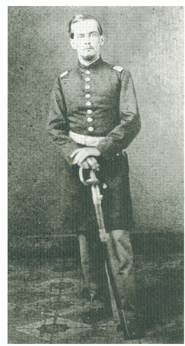 George V. Kelley captured the colors of the 1st Alabama at Franklin