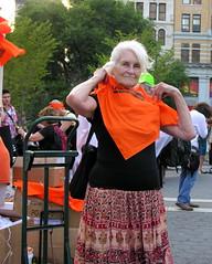 Veteran protester