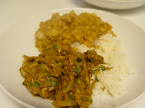 Curried tuna
