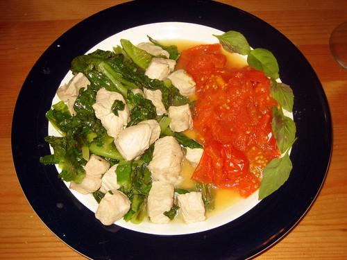 pork lettuce tomato