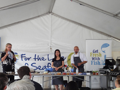 For The Love Of Seafood: The chefs challenge