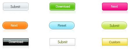 ejemplo de botones