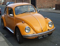 ORANGE - VW - BEETLE