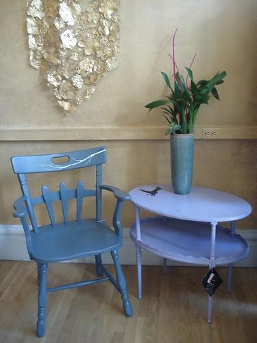 Swankety Swank Showcase: Gray Branch Chair (perspective)
