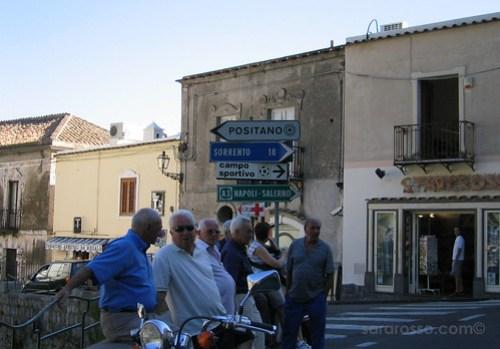 Networking in Positano