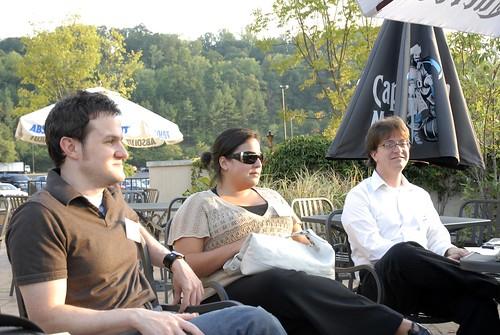 Charles, Adrienne, Jason