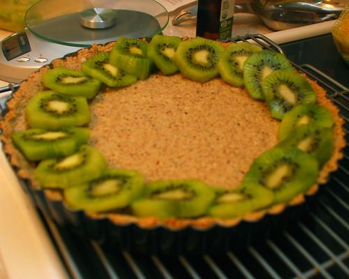 Assembling the Vegan Tart