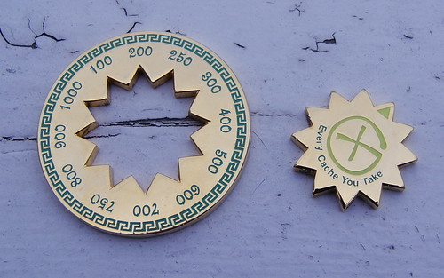 geonarcissa's geocoin collection