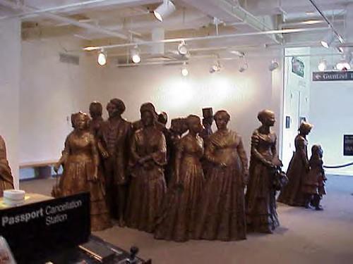 Seneca Falls statues