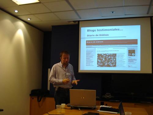 Una imagen durante mi charla