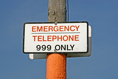 EMERGENCY TELEPHONE 999 ONLY