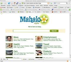 Screenshot of Mahalo.com