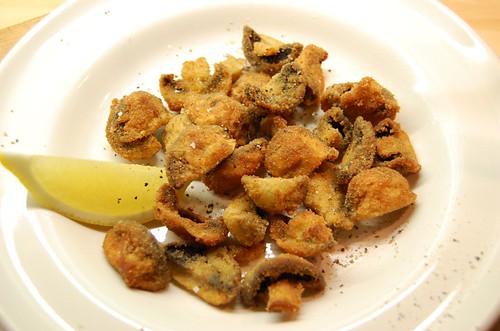 Mushrooms fried in breadcrumbs 1