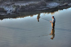 Fishing Reflection