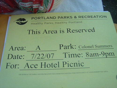 ace hotel picnic