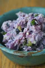 Blue Potato Salad