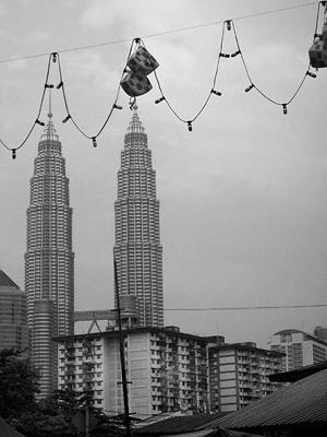View from Kampung Baru