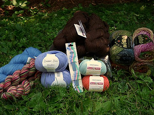 Knit and Crochet Show Loot