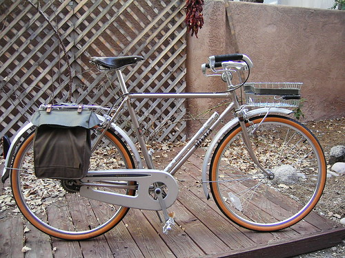 Miyata City Bike 650B conversion by Passhunter