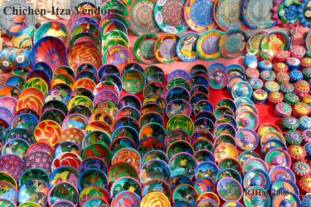 Chichen-Itza - Plates