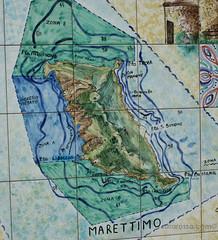 Marettimo Map