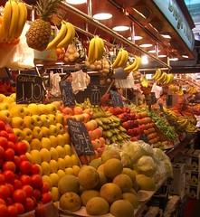 Boqueria Market stall
