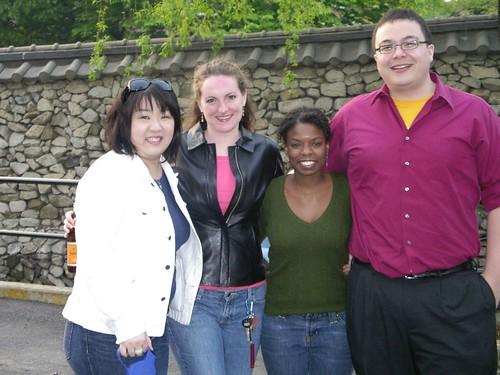 Lena, me, Barbara, Muehlke