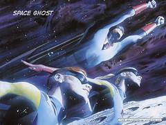Space Ghost, pintado por Alex Ross - Clique para baixar este wallpaper