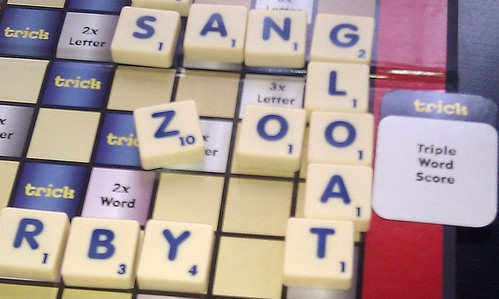 A Winning Move in Scrabble Trickster