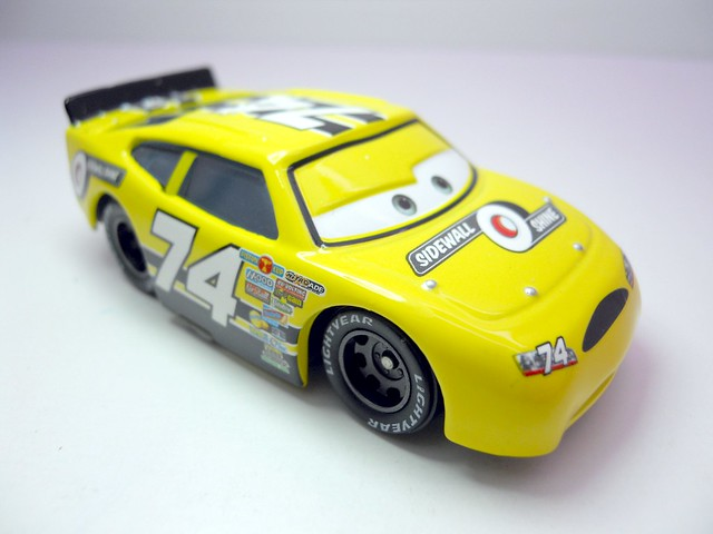 DISNEY CARS KMART COLLECTOR DAY 5  SIDEWALL SHINE RACER (2)